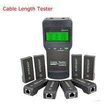 Длина Кабеля Тестер RJ45 RJ11 USB сетевой кабель метр тестер NF8108-M
