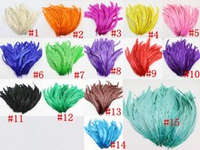 Leading Supplier in China Cheap sales rooster tail Feather 25-30cm/10-12inch DIY chicken feather for headwear decorations crafts