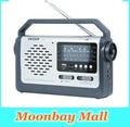 Новый Оригинальный Degen DE320 Радио FM SW1-2 МВТ Ручной Full Band радио Приемник USB Флэш-Диск TF Карта mp3-плеер Многополосный Радио