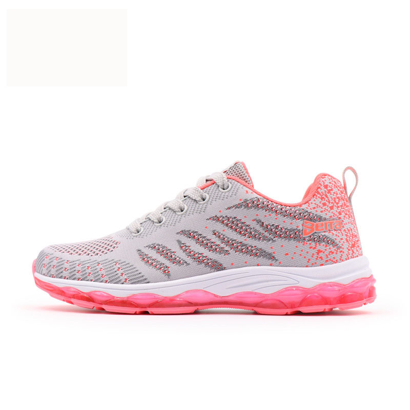 Été athlétique maille Air course chaussures marque baskets chaussures noir femme choc Net Surface femmes baskets Sport chaussures pour femmes