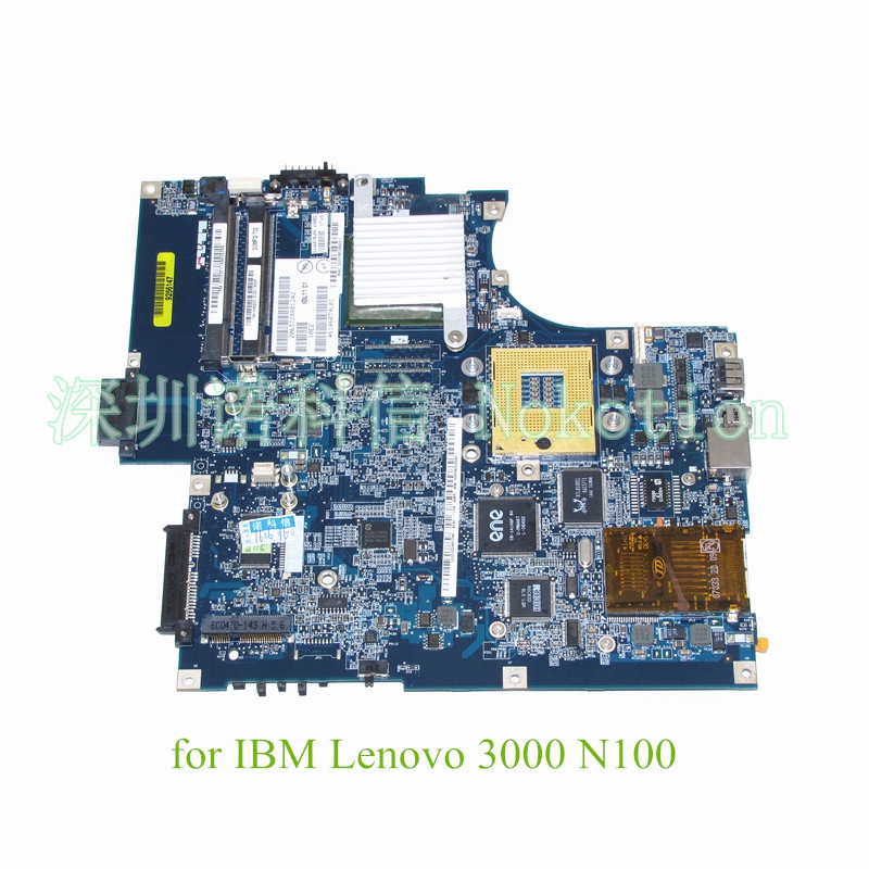 где купить NOKOTION IDL11 LA-3511P laptop motherboard For lenovo 3000 N100 DDR2 945GM FRU 41W8032 Mainboard дешево