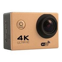 Original F60 Sports Action Camera Ultra HD 4K WiFi 1080P/60fps 2.0 LCD 170D Lens Helmet Cam Camcorder DV DVR Waterproof Camera