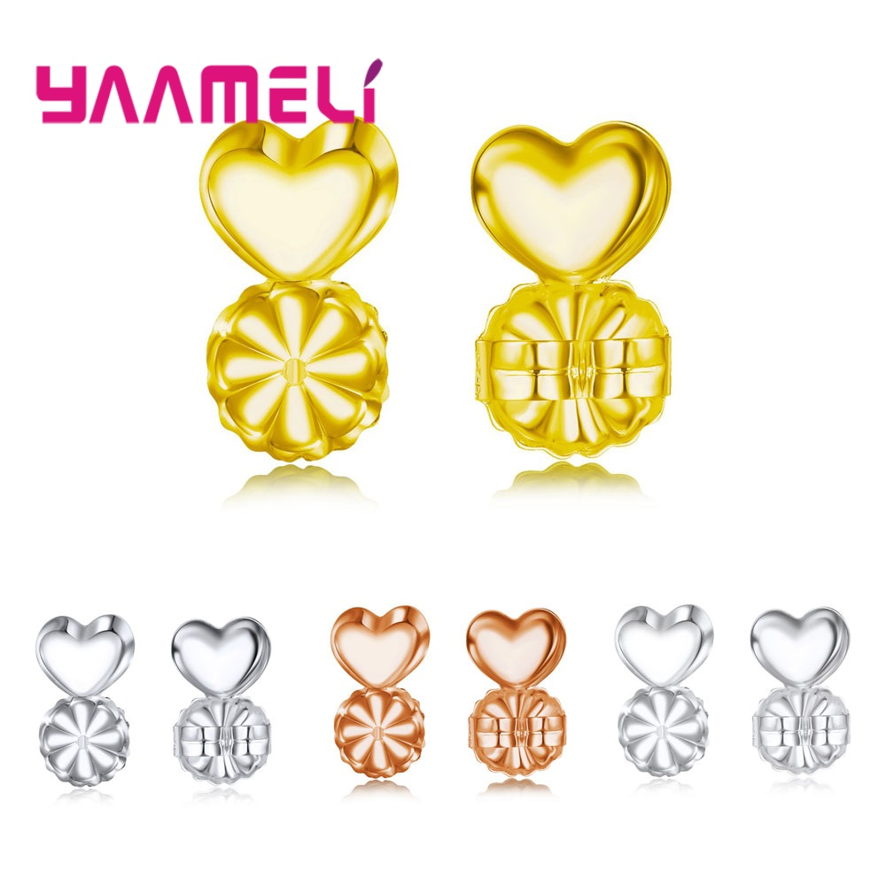e14d12913 YAAMELI New Arrive Magic Earring Backs Support Earring Lifts Fits all Post  Earrings Set 925 Silver Earrings Jewelry Accessories |  jewelrybox.dropgecko.com