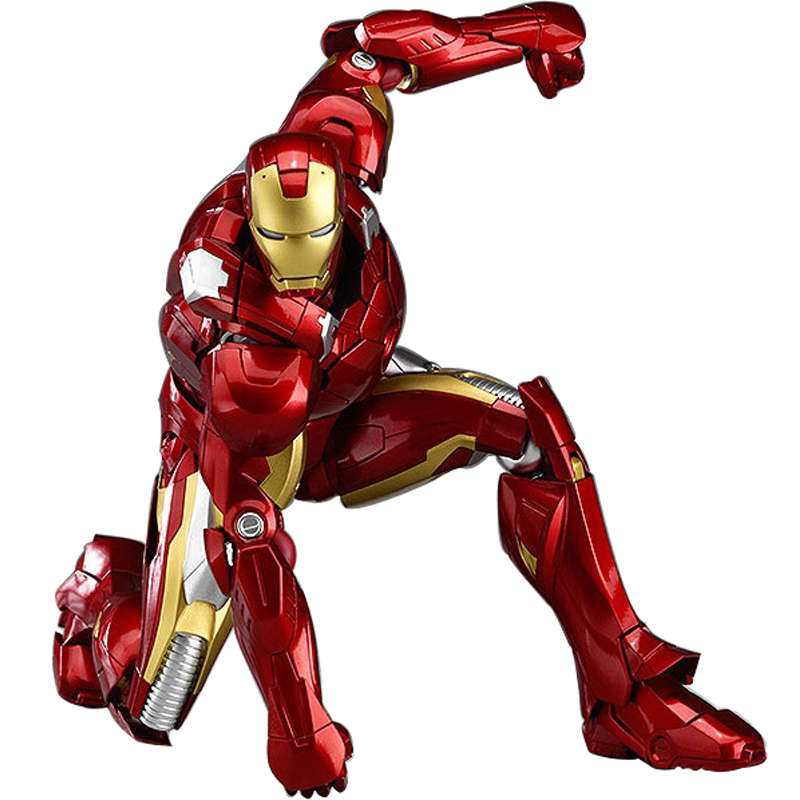 16 CM Marvel The Avengers Iron Man Tony Stark Movalable Joints PVC Action Figure Model Toy Collection Dolls Kids Gift Brinquedos new hot 17cm avengers thor action figure toys collection christmas gift doll with box j h a c g