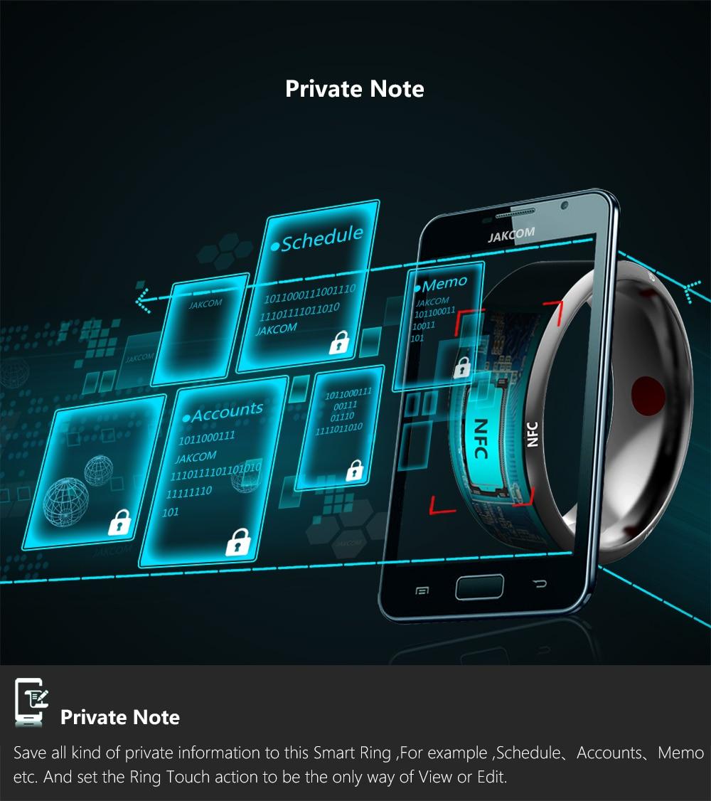 Free Shopping Jakcom R3 Smart Timer Ring waterproof dustproof/fallproof for NFC