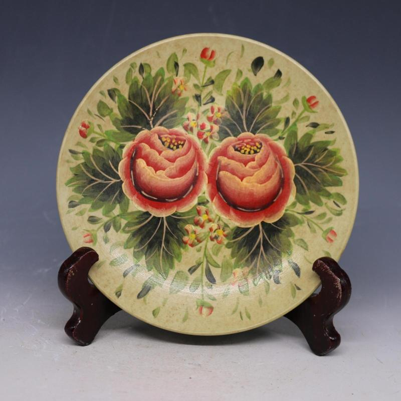3 Antique SongDynasty porcelain pate, Pastels peony ,Hand-painted crafts,Decoration,Collection&Adornment