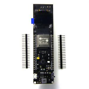 Image 4 - 0.96 inç OLED WiFi Bluetooth ESP32 geliştirme Kurulu 18650 şarj Pil Kutusu