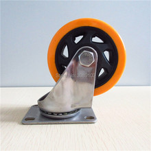 hot Selling 4 inch stainless steel 304 industrial caster Universal wheel