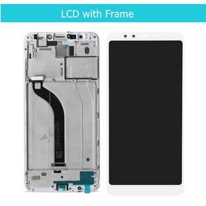 Image 3 - Original pour Xiaomi Redmi 5 LCD écran tactile numériseur assemblée avec cadre pour Xiaomi Redmi 5 affichage pièces de réparation