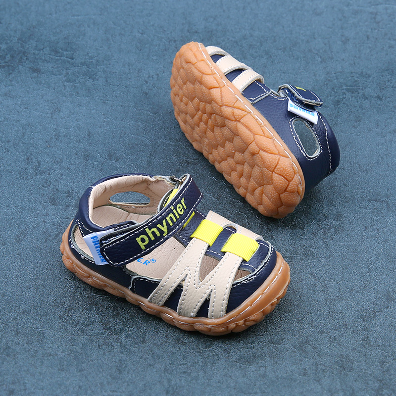 Phynier Spring and summer Collision avoidance male baby Functional shoes Toddler shoes 0-1-2 year old baby shoes ...