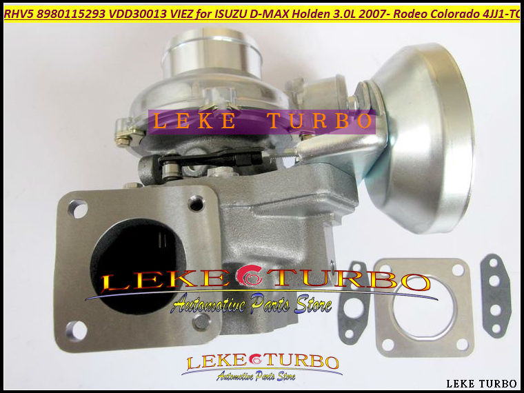 RHV5 8980115293 8980115294 8980115295 8980115296 Turbo Turbocharger For HOLDEN Rodeo For ISUZU D-MAX 2007- Colorado 4JJ1-TC 3.0L free ship rhv5 8980115293 vdd30013 viez turbo turbocharger for isuzu d max 3 0l crd for holden rodeo td colorado 4jj1t 4jj1 tc