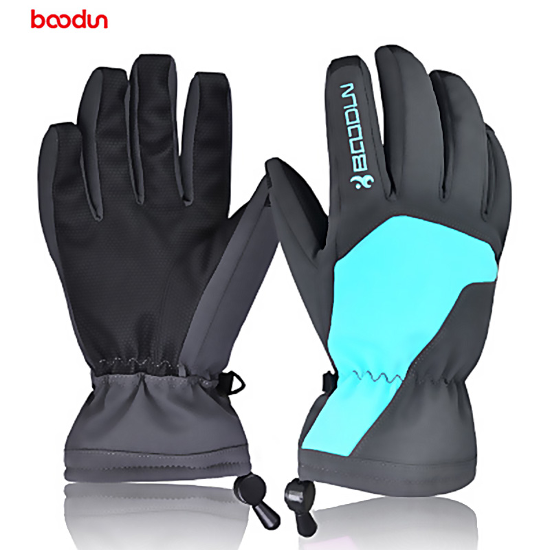 Men Winter Warm Camouflage Gloves Windproof Snowboard Outdoor Cycling Ski Gloves