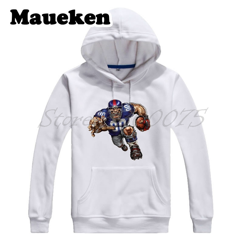 Men Hoodies New York Strong Defiant Giant Sweatshirts Hooded Thick for Giants fans gift Comic Cartoon Winter W17112910