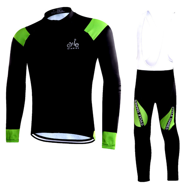 Cycle Diaries 2018 new Winter Thermal Fleece Cycling Jerseys Set mtb  Mountain Cycling Clothing uniform maillot 6aa1374b9