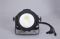 HOT 200w led COB PAR White color COB led par lighting disco bar ktv night club led cob par wash light