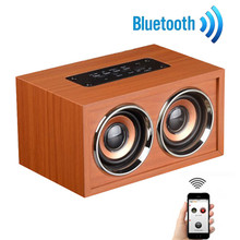 Newest Bluetooth Speaker Wireless Retro Bluetooth Speaker 3D Dual Loudspeaker Surround Mini USB Charging Free Shipping XP15A23