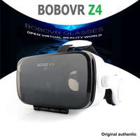 משקפיים מציאות מדומה BOBOVR Z4 עם צפייה Gampad משודרג Immersive 360 טלפונים חכמים VR משקפיים סרט משחקי 4.2-6.0 inch