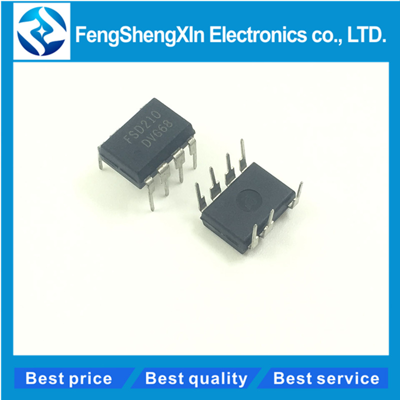 10pcs/lot    NEW   FSD210   DIP-7    Induction cooker power chips