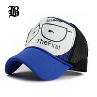 Wholesale Baseball Caps Trucker Summer Female Snapback Hats For Women Men Mesh Cap Outdoor Sport Sun
