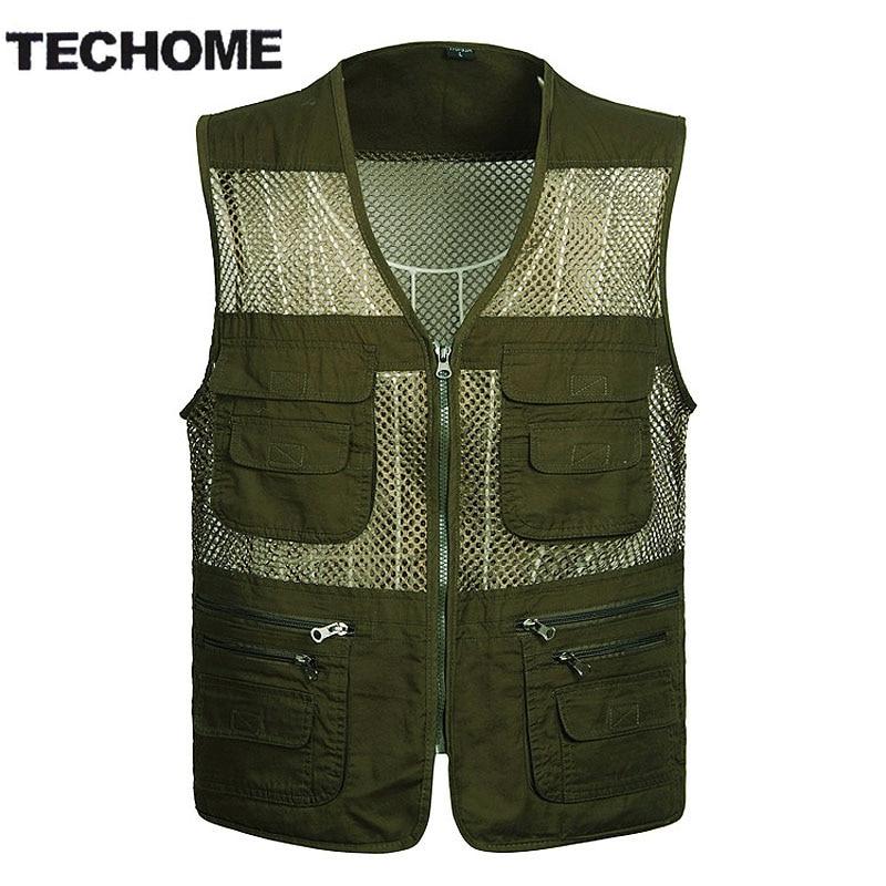 2016 Men S Photographer Vest Multi Pockets Cheap Vests Out Door Shooting Hunt Waistcoat Vest