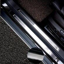 Для Volkswagen Passat B8 вариант автомобильные наклейки модификация нержавеющей стали порога тела яркие полосы декоративные полосы порога