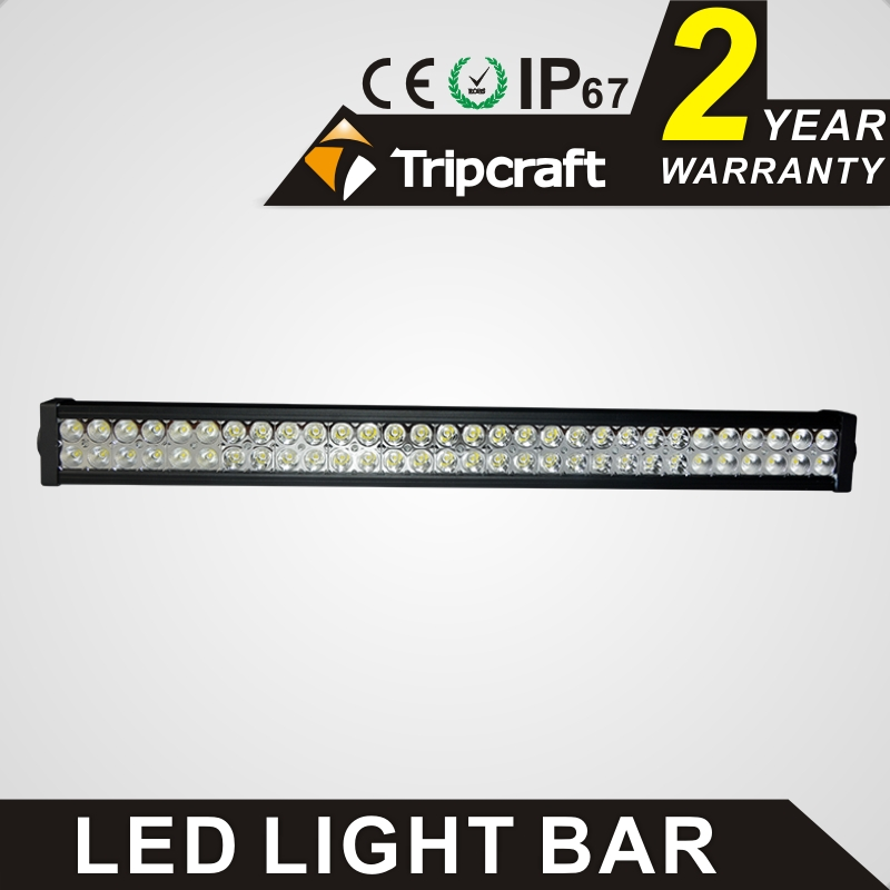 TRIPCRAFT 180w led work light bar double row straight Work Driving Boat Car Truck 4x4 SUV ATV Off Road Fog Lamp combo flood spot tripcraft 108w led work light bar 6500k spot flood combo beam car light for offroad 4x4 truck suv atv 4wd driving lamp fog lamp