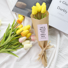 Artificial Flower Garden Tulip for INS Photography Props Studio Photo Accessories Photograph Background Decoration DIY Ornament