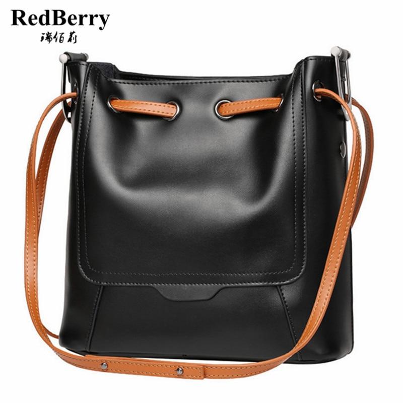ФОТО 2016 Women Bucket Bag Genuine Leather Luxury Handbag 100% Cow Leather Female Shoulder  Bolsa Feminina Famous Brand New Handbag