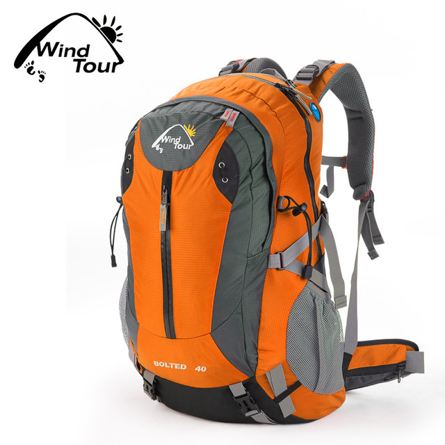 0d3b4fccd4 Wind Tour Waterproof 40L Outdoor Sport Hiking Camping Travel Backpack Day  Pack