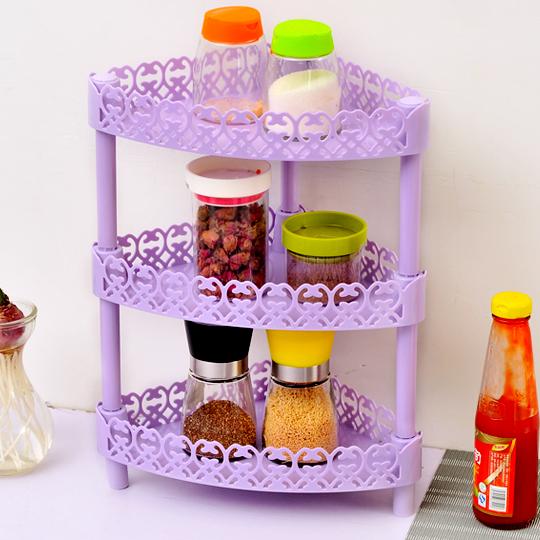 cucina rack di stoccaggio combinazione di pi strati mensola portaspezie bagno in camera gratuito orgainzer accessori