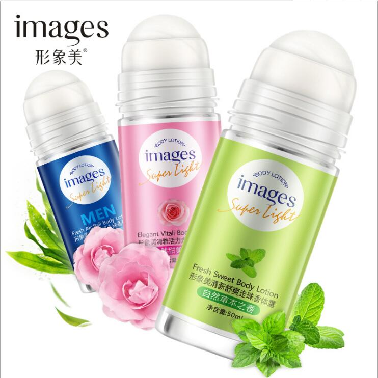 3 Styles Images Ball Body Lotion Antiperspirants Underarm Deodorant Roll On Bottle Women Fragrance Men Smooth Dry Perfumes