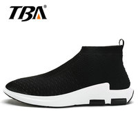 2019 Men Running Shoes Light Weight Mesh Sports Black Gray Red Color Jogging Sneakers For Man Outdoor Flat Walking Trend Shoes