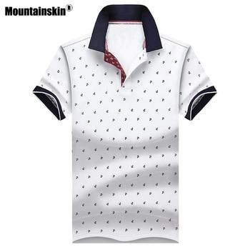 b087b077b76ace0 Mountainskin Для Мужчин's е-образная Летняя женская кофта хлопка рубашки  Для мужчин s брендовая одежда