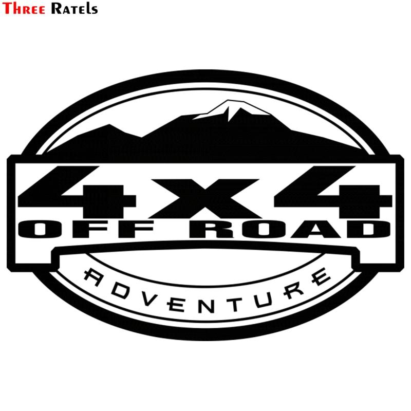 Three Ratels TZ-1334# 15*21.9cm Car Stickers 4x4 Off Road For Lada Niva Uaz Hunter Patriot Funny Car Sticker Auto