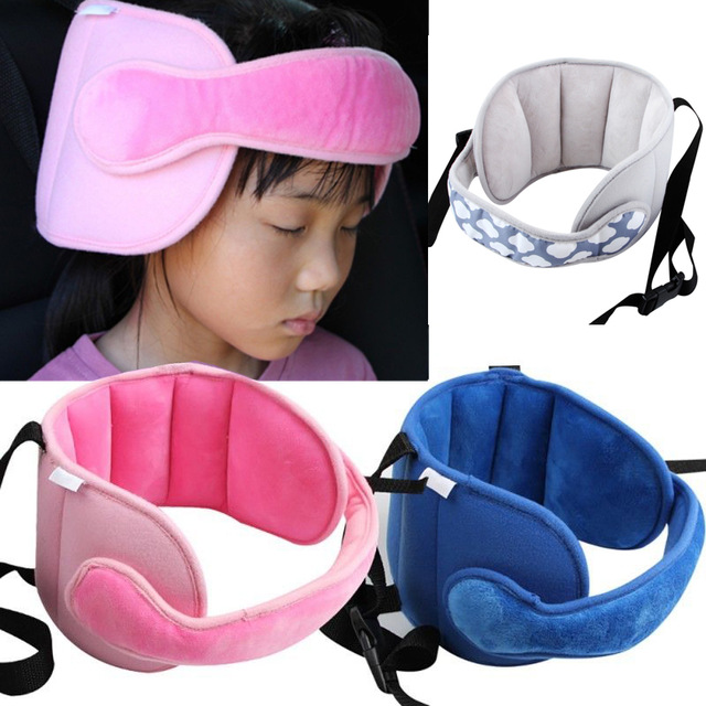 Dropship Baby Kids Adjustable Car Seat Head Support Head Fixed Sleeping Pillow Neck Protection Safety Playpen Headrest