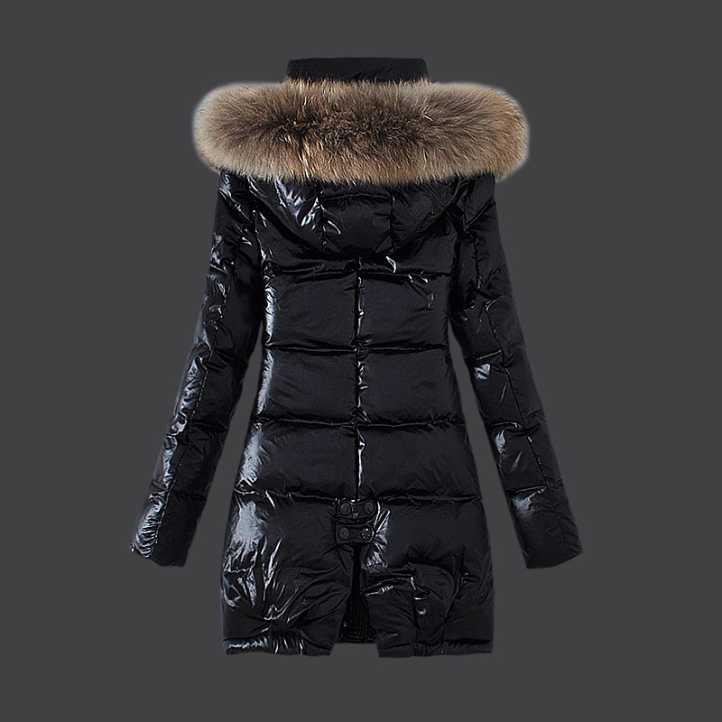 c53179d9e Korean Women Outerwear Long Winter Coats White Duck Down/Goose Down ...