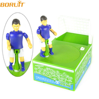 Soccer Field Shape Piggy Bank Mini Atm Money Box Electronic Chewing Coins Deposit Machine for Children Xmas new year gifts