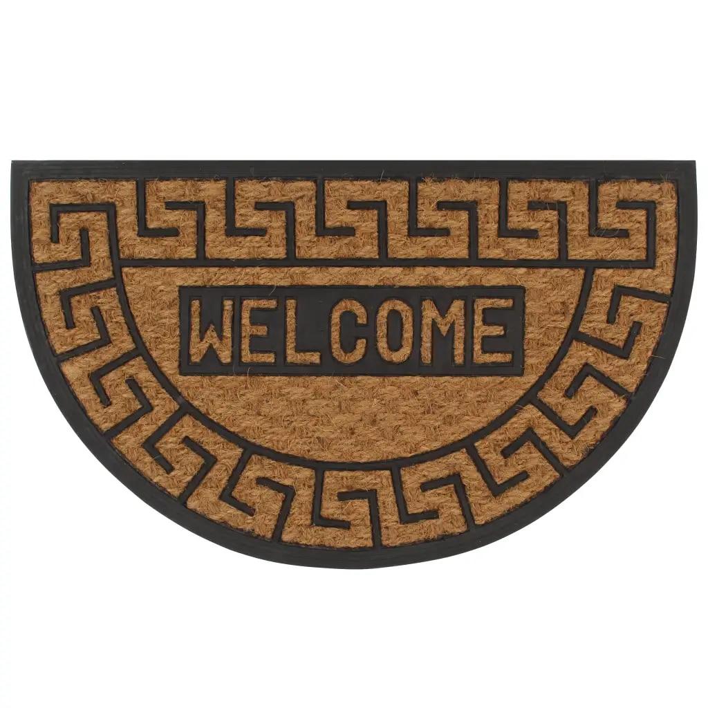 Doormat Half-round Funny Vintage Entrance Anti-Slip Doormat Carpets Bedroom Rugs Decorative Stair Mats Home felpudo deurmat