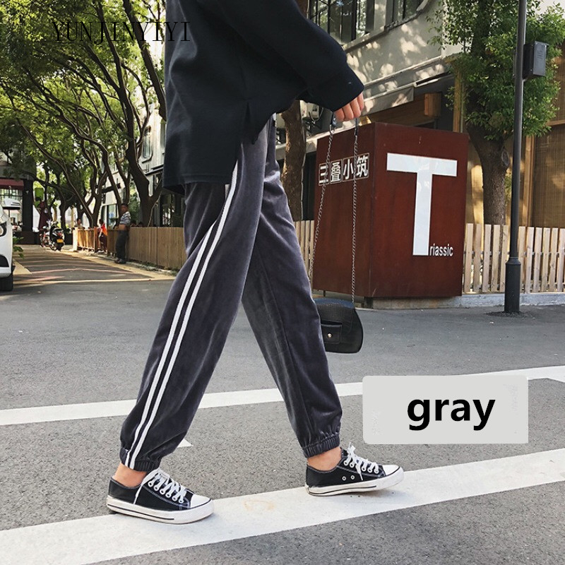 Fashion Maternity Sports Pants Sweatpants Pregnancy Clothes For Pregnant Women Casual Maternity Clothing Trousers