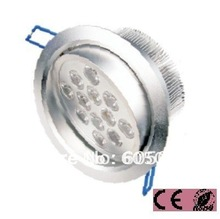 12w Bridgelux led down lamp ceiling recessed downlight AC85-265V lifespan>50,000hrs CE&ROHS cheap price with high quality 6pcs