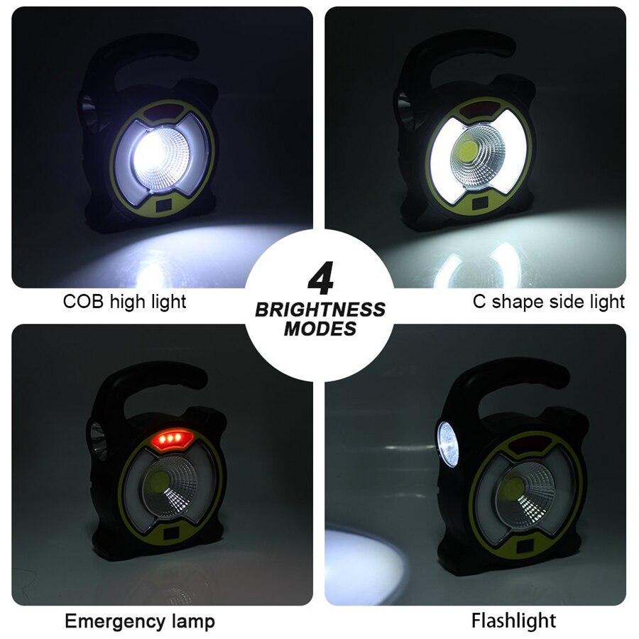 com gancho de suspensao solar night light para camping caminhadas 04