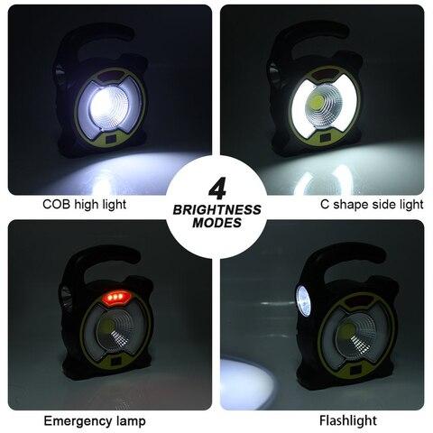 com gancho de suspensao solar night light para camping caminhadas