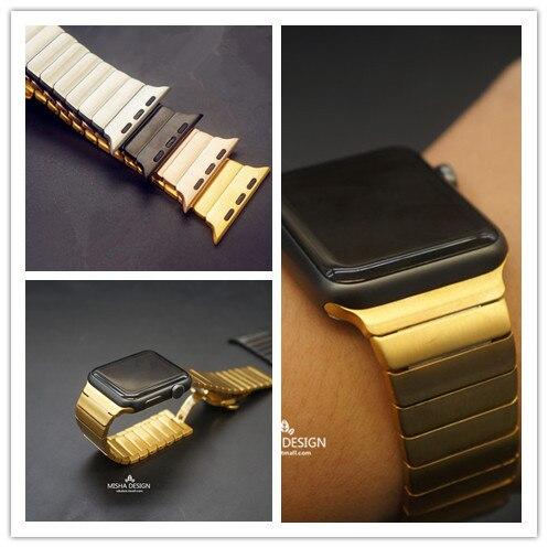 Silver, Black, Gold, Rose Gold 316L Link Bracelet For