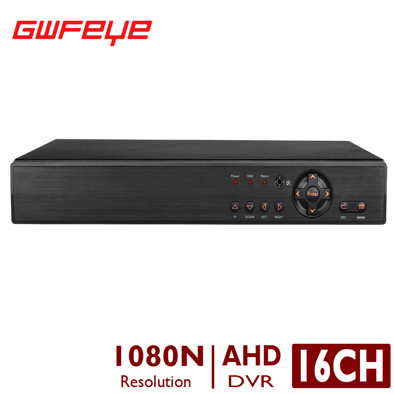 ФОТО GWFEYE 16CH Channel Hybrid 1080N 5 In 1 DVR Video Recorder Support AHD/TVI/CVI/Analog/IP Cameras P2P XMEYE