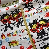 90x145 센치메터 일본 만화 히스테릭 미니 캔버스 패브릭 천 DIY 봉제 패치 워크 아이