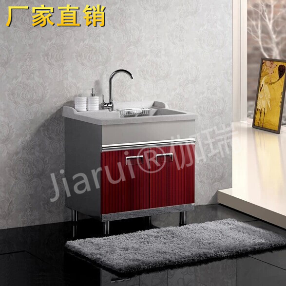 Overall Balcony Wardrobe Balcony Laundry Wash Countertops With Washboard  Laundry Tub Manufacturers Offer Direct Sales