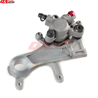 CR CRF Rear Brake Caliper With Good Pads For CR125 CR250 CRF250R CRF250X CRF450R CRF450X KAYO T4 T6 Motorcycle motocross