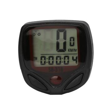 1pc wodoodporny rower rower cykl LCD wyświetlacz cyfrowy komputer prędkościomierz przebieg kolarstwo stoper akcesoria do jazdy #15 tanie i dobre opinie ISHOWTIENDA Przewodowego stoper Bicycle