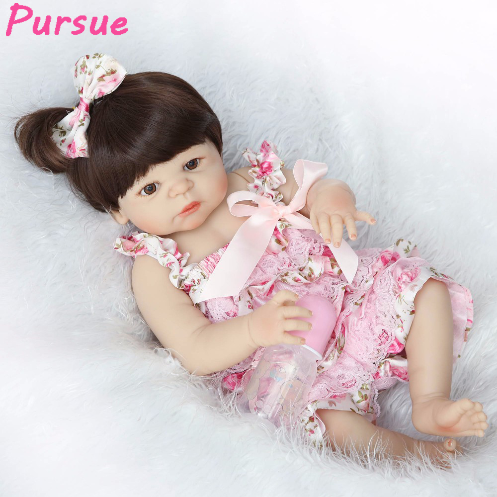 Pursue Reborn Babies Full Body Silicone Reborn Dolls for Girls Boys Kids American Girl Doll bebe reborn com corpo de silicone pursue full body silicone reborn dolls baby reborn with silicone body dolls reborn whole silicone toys for girls reborn babies
