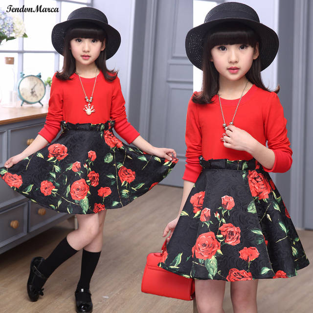 f736ef01dc62 placeholder Girls Dresses Summer 2018 Children Dress for Girls 11 years old  Long Sleeve Kids Clothes Girls